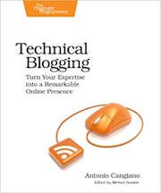 The now obsolete first edition of Technical Blogging